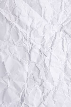 White creased paper background texture 免版税图像