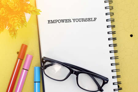 Empower Yourself Stock Photo