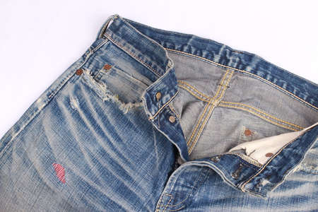shabby jeans