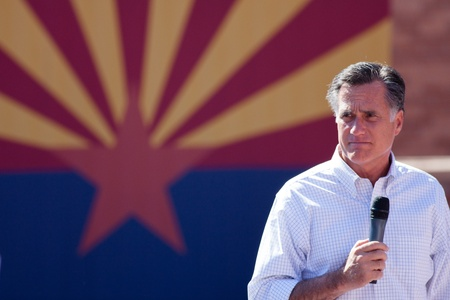 mitt: Mitt Romney Campaigns In Arizona Before Hispanics Editorial