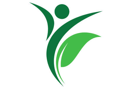 herbal nature for health life icon