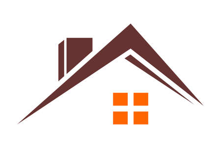 Residence concept real estate house home abstract graphic vector design logo icon