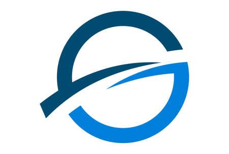 letter G vector logo icon concept vector concept flat design 矢量图像