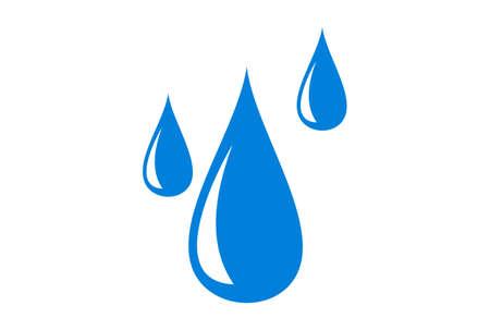 water fall logo icon concept vector concept flat design