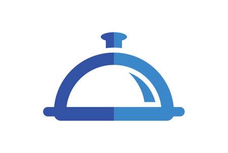 restaurant food abstract logo icon concept vector concept flat design 矢量图像