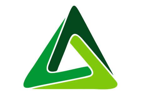 triangle logo concept icon vector vector concept flat design 矢量图像