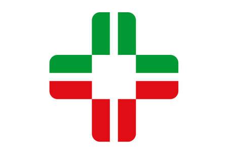 medical vector icon logo vector concept flat design