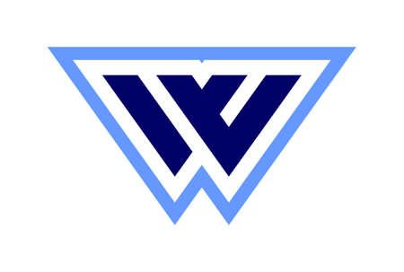 letter w logo vector concept icon vector concept flat design 免版税图像 - 117188490
