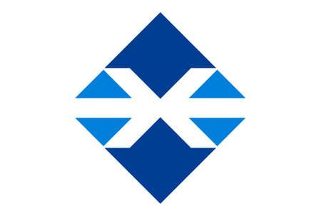 letter x logo concept vector icon vector concept flat design 矢量图像