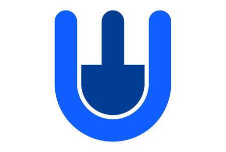 letter w icon logo vector vector concept flat design 矢量图像