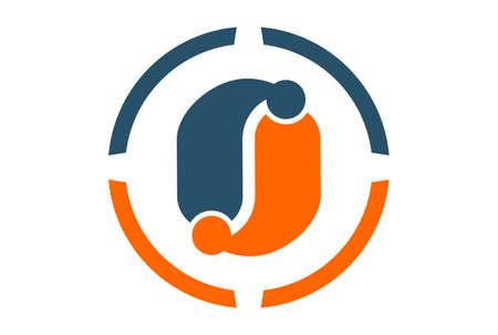 letter o vector logo icon vector concept flat design