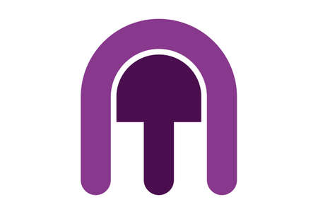 letter m vector logo icon vector concept flat design