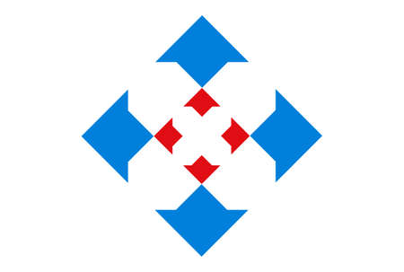 letter x arrow concept logo icon vector concept flat design 矢量图像