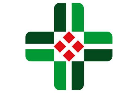 medical logo concept vector icon vector concept flat design 矢量图像