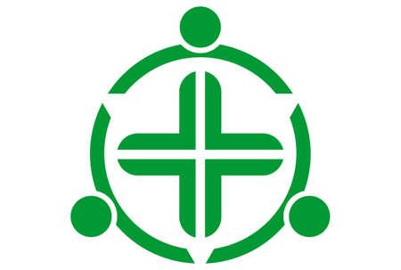 medical icon logo concept vector vector concept flat design