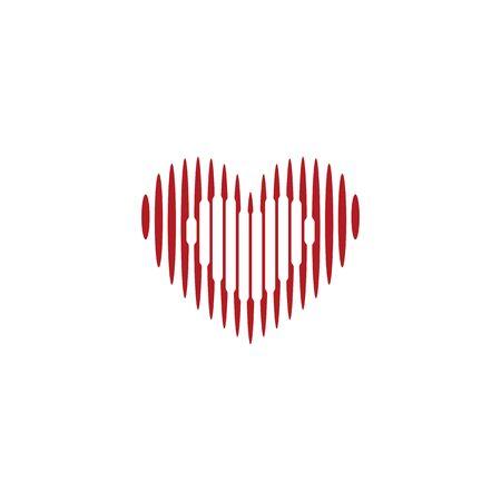 Love For Love Design Vectors Illustrations Stock Illustratie