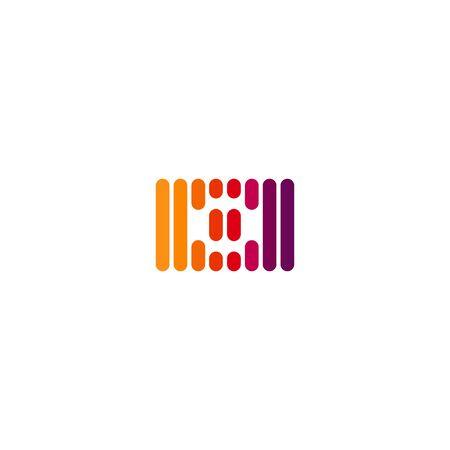 Lines camera  design vectors colorful