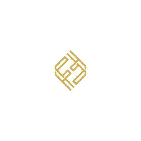 Initials letters F logo design vectors elegant, luxurious, gold colors V.8