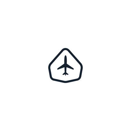Airplane design vectors unique Illusztráció