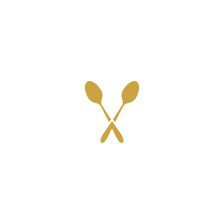 Cutlery design vectors template for restaurant