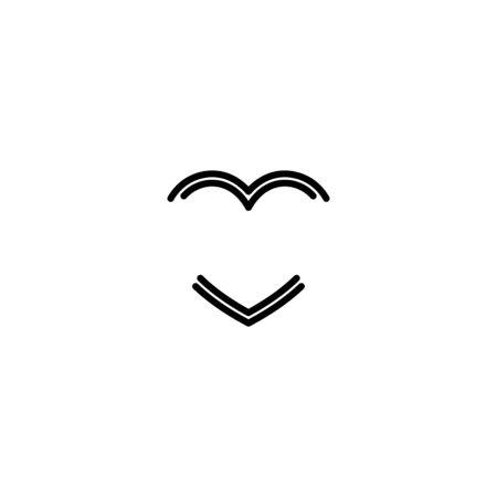 Love design vectors monoline style unique