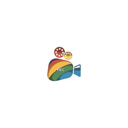 Video design vectors colorful, modern, unique
