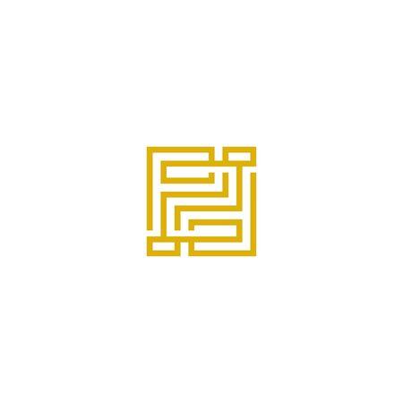 Initials letters PD design vectors elegant, unique V.5