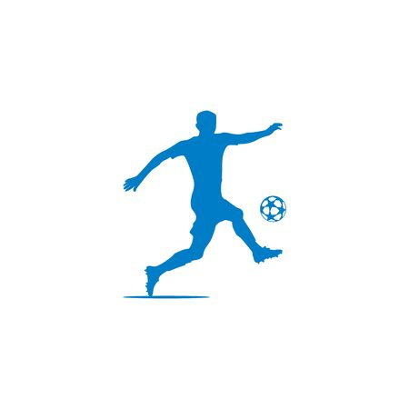 Silhouette of football players design vectors Stock fotó - 129688633