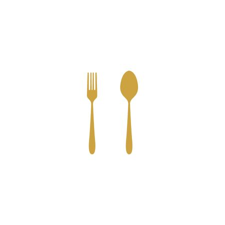 Cutlery design vectors template for restaurant Stock fotó - 129688638