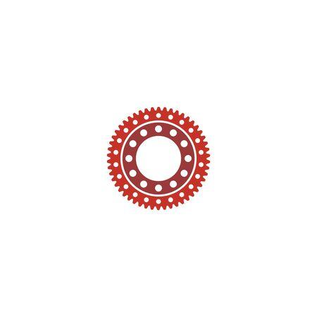 Gear logo design vector template Stock fotó - 130555538