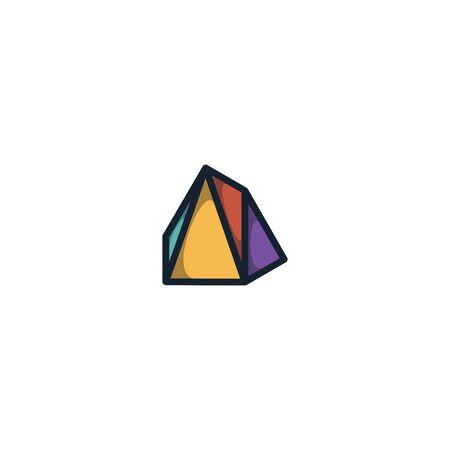 Diamond logo design vector unique, modern, luxurious Stock fotó - 130555548