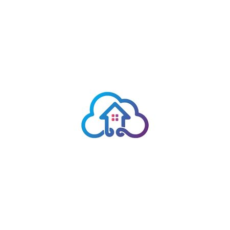 Home cloud icon design vector Stock fotó - 133989380