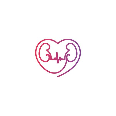 The symbol love for the kidneys.
