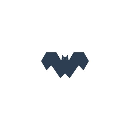 Bat icon design vector unique