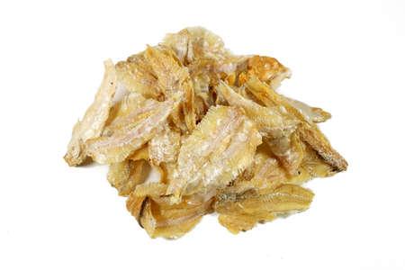 Stacked Dried Salted Pakang Fish