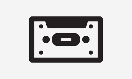 disk jockey: Music Icons with White Background