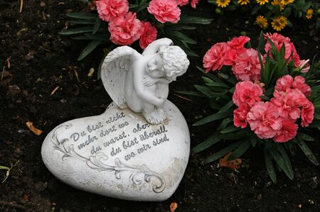 wherever: Angel and heart prayer. You are no longer where you have been, but you are wherever we are.