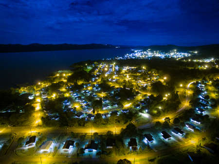 The city of Sorowako in South Sulawesi - Indonesia. Sorowako is the the supporting city for Nickel Mining in the area.