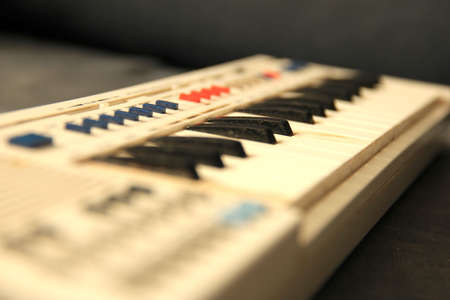 synthesiser: Vintage Toy Organ