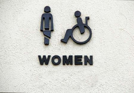 genders: Restroom Female Sign
