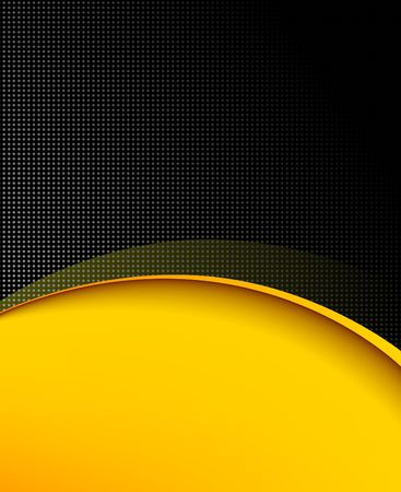 black and yellow: Black and yellow background composition