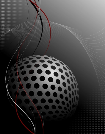 Abstract technology background - vector illustration Vector