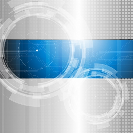 circle design: Abstract technology background - vector illustration