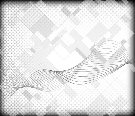 grayscale: Abstract grayscale background  Full editable vector illustration Illustration