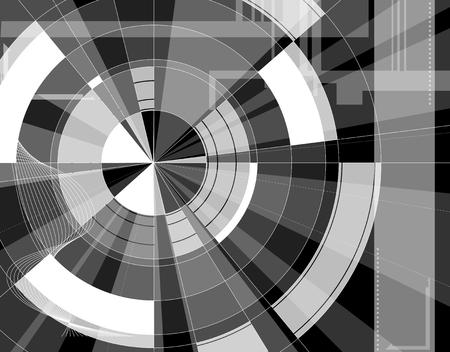 Abstract technology background  Full editable illustration