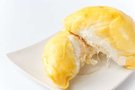 cooked durian fully eat photo