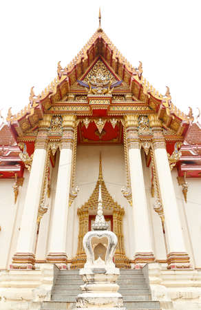 thai church im thailand photo