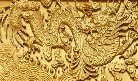 chinese art in temple kanchanaburi thailand Stock Photo - 14354128