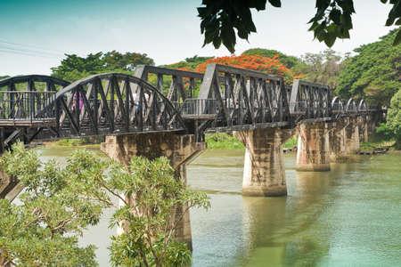 The River Kwai Bridge is a historic bridge in World War 2