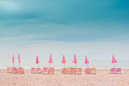 Cha- Am Beach, Thailand. Stock Photo - 15309622